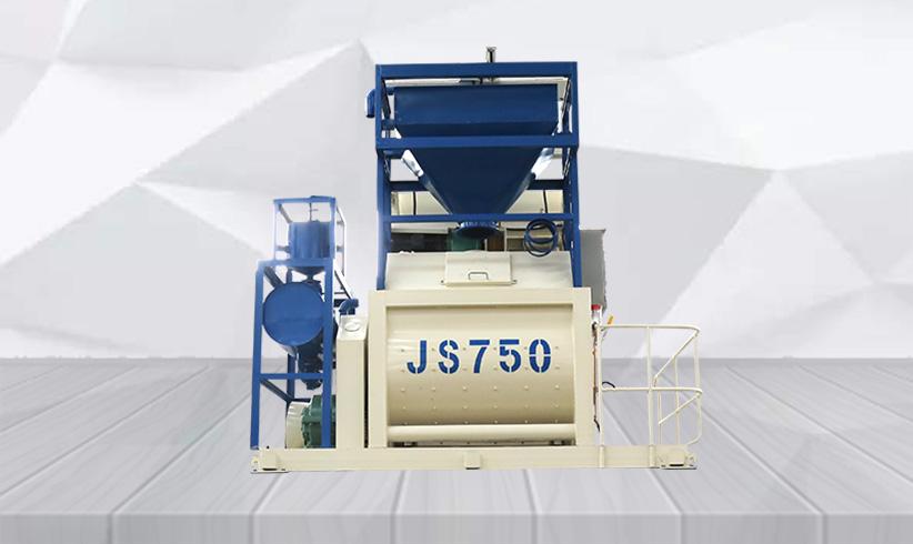 长城新型js750搅拌机