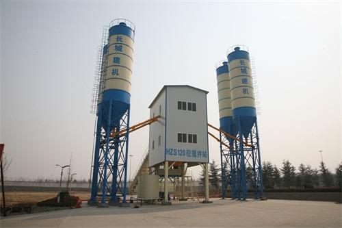 长城建机JS2000拌和系统