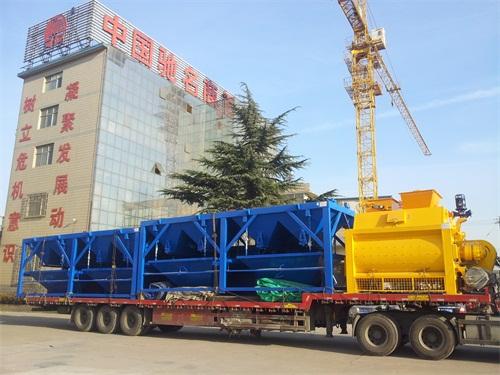 中铁十四局与郑州长城建机签约长城JS2000拌和系统