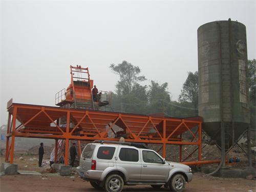 建个js750的混凝土拌合站多少钱