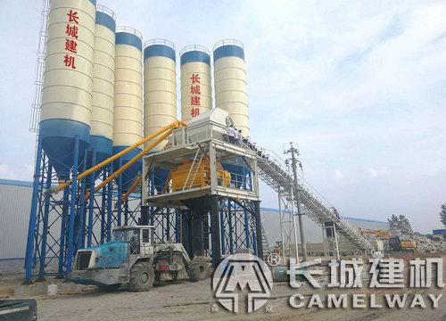 年产50万立方米混凝土搅拌站生产线