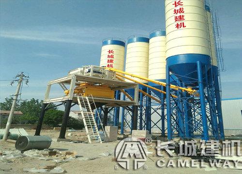 混凝土搅拌站生产线能用多久