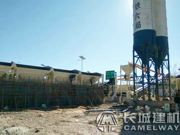 大型混凝土搅拌站生产线成套设备