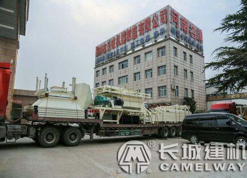 郑州长城混凝土搅拌站生产线