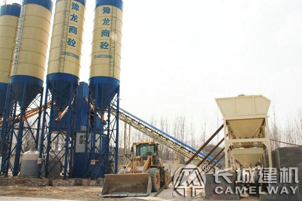 HZS60型混凝土搅拌站成套设备