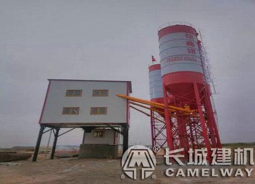 HZS90混凝土搅拌站设备配置产量利润如何