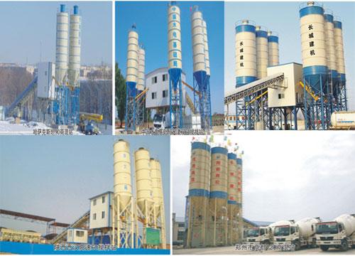 年产60万方混凝土搅拌站设备