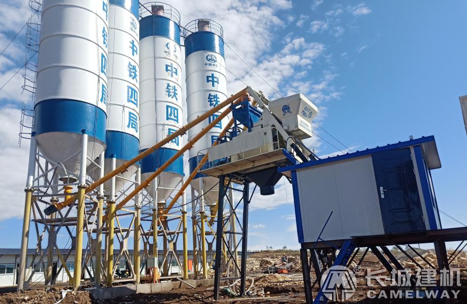 120工程混凝土搅拌站设备