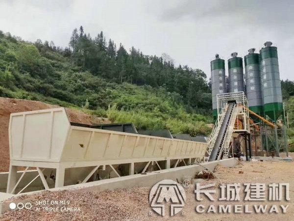 商用混凝土搅拌站生产设备用途