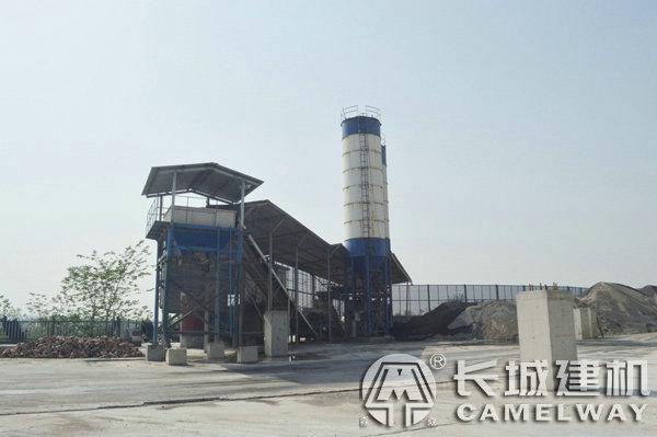 600吨每小时稳定土拌合站设备