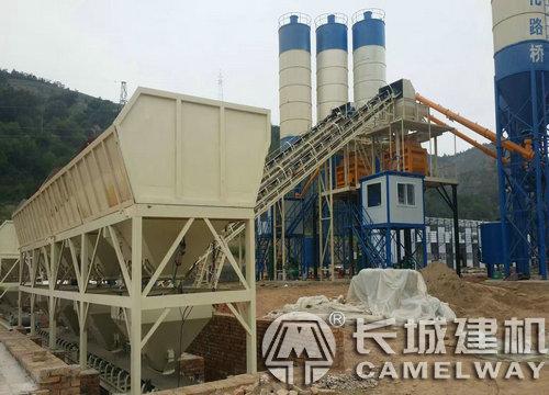 县城投资建小型混凝土搅拌站