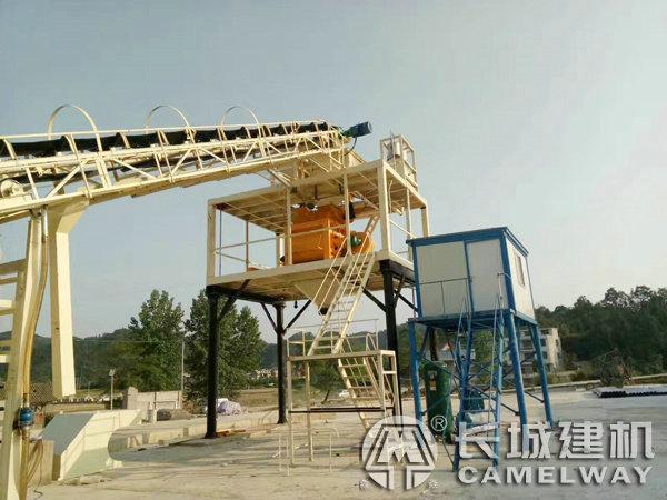 120立方米每小时混凝土搅拌站