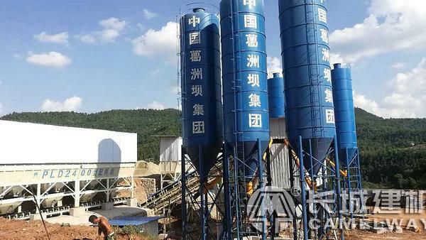 HZS90混凝土搅拌机械设备