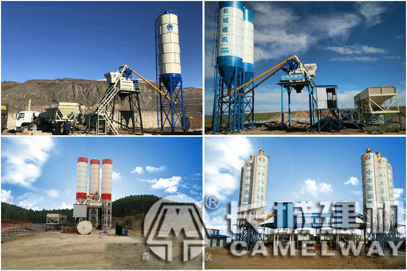 河南郑州小型搅拌站厂家,小型混凝土搅拌站价格哪家便宜