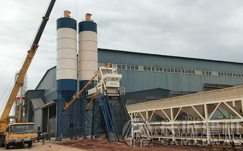 75系列强制式混凝土拌合站产能