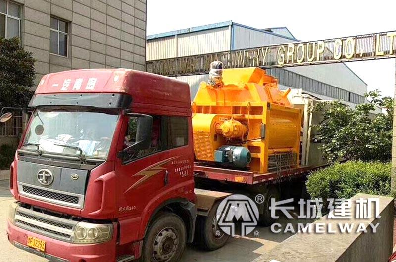 长城建机厂家90混凝土加工设备发货