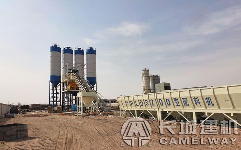HZS120混凝土搅拌站产量