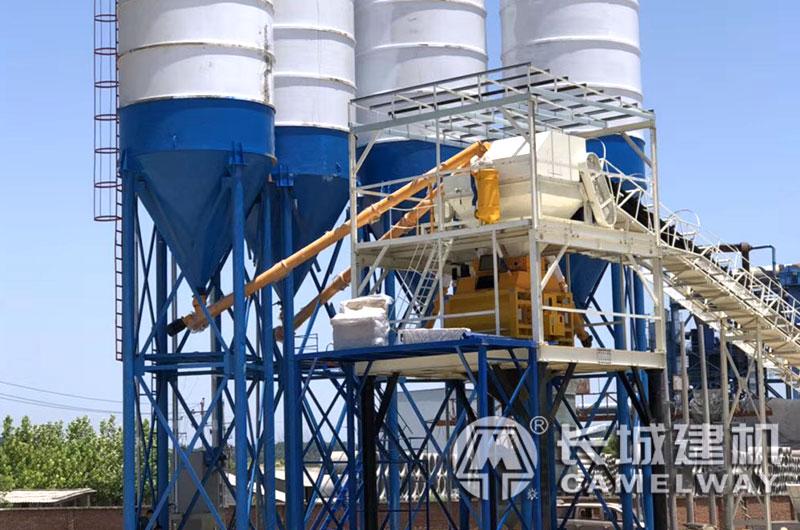 每天6000立方的混凝土搅拌站设备