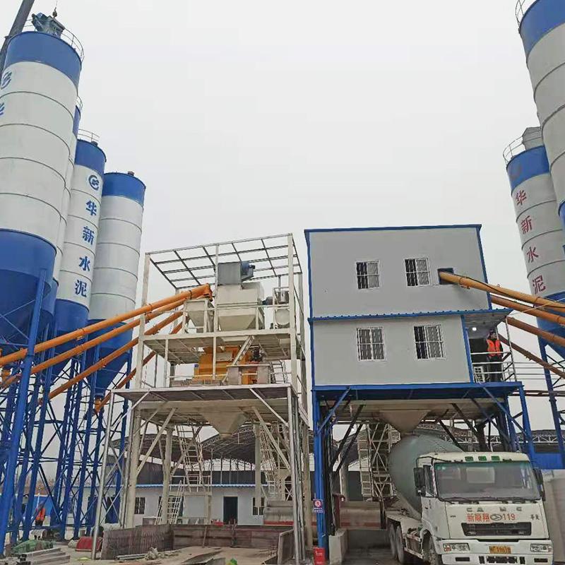 hzs180混凝土搅拌站每小时能生产多少混凝土?