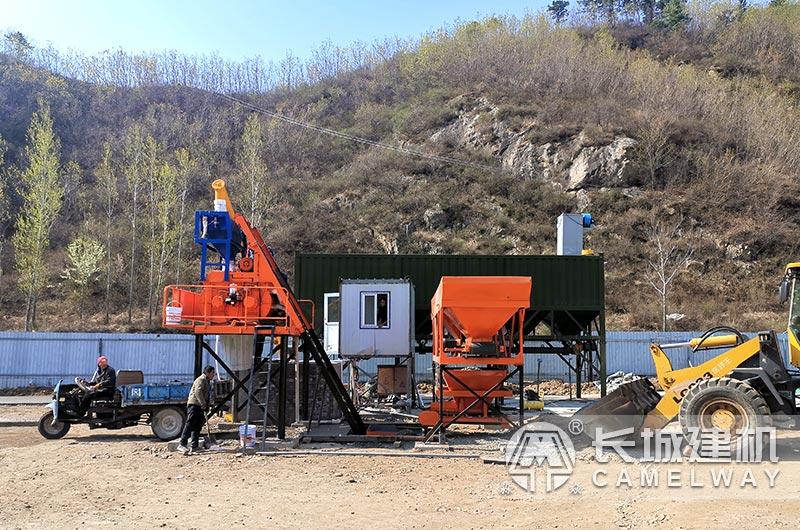 500水泥混凝土搅拌机重量为3.5-4吨