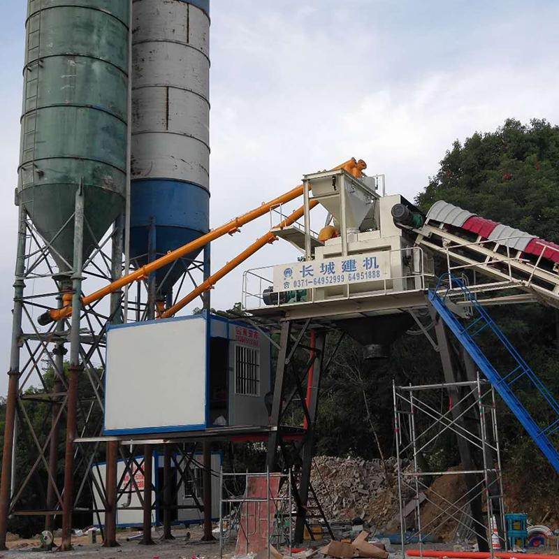 关于hzs75型混凝土搅拌站的5大优势分析