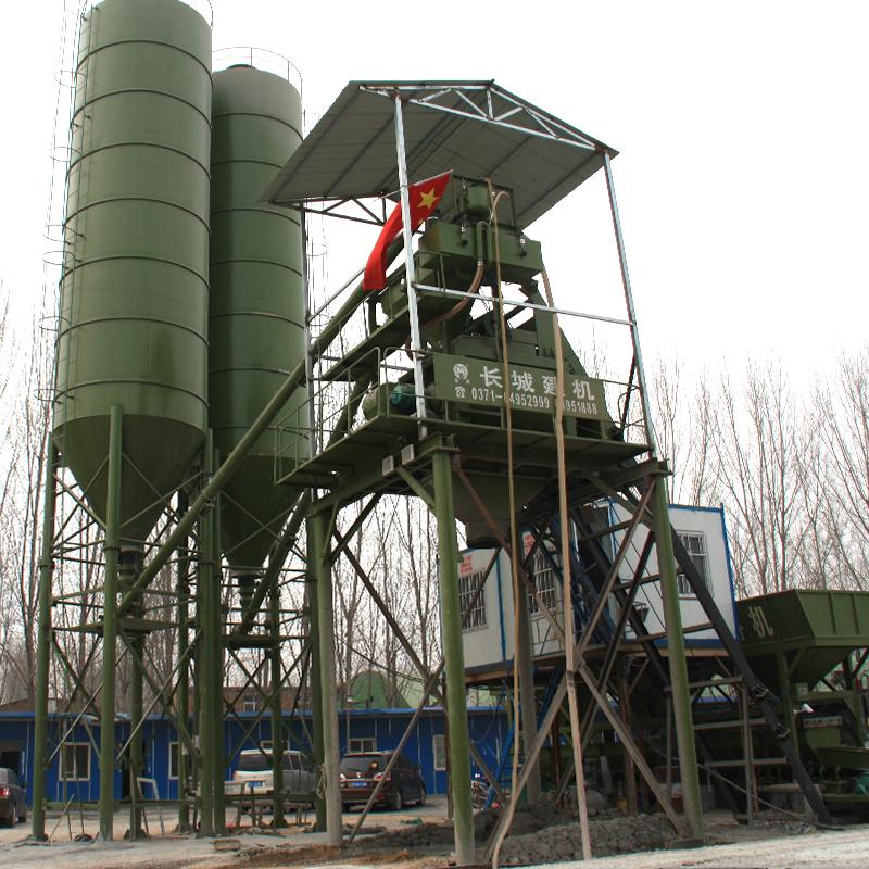 hzs75型混凝土搅拌站的优点