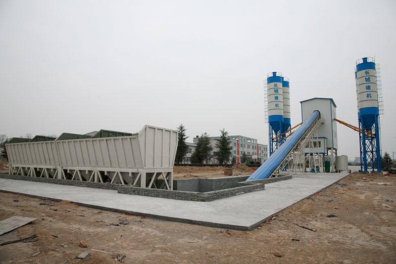 大型hzs120混凝土搅拌站的配置要求